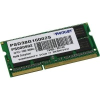 Patriot Memory PSD34G16002S 4GB PC3-12800 DDR3 1600MHz Module