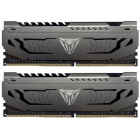 Patriot Viper Steel Series DDR4 16GB (2 x 8GB) 3200MHz with Gunmetal Grey Heatshield