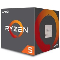 AMD Ryzen 5 2600X Gen2 6 Core AM4 CPU/Processor with Wraith Spire Cooler