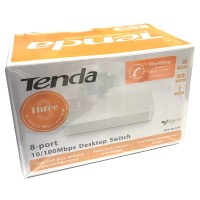 Tenda S108V8 Autosensing 8 Port 10/100 Unmanaged Desktop Mini Switch