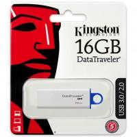 Kingston 16GB DataTraveler G4 USB 3.0 Blue Flash Drive