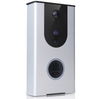 Dynamode Outdoor HD Smart WiFi Video Doorbell Camera Day/ Night with Talk Facility