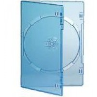 Single CLEAR Standard DVD 14mm Storage Cases - 100 BOX