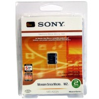 Sony (MS-A2GN) 2GB Memory Stick Micro M2 - Retail