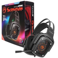 Marvo Scorpion HG9046 7.1 True Surround Sound 7 Colour LED Gaming Headset