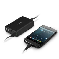 Sumvision Fast 6 port USB SMART ID Technology USB Charger