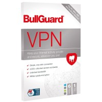 BullGuard VPN 2021 1 Year / 6 Device User Licences - PC, Mac, Android & iOS