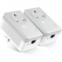 TP-Link TL-PA4010P KIT Passthrough Powerline AV600 Starter Kit
