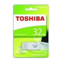 Toshiba THN-U202W0320E4 32GB TransMemory U202 USB Flash Drive - White