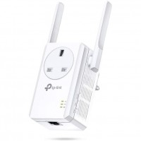 TP-Link TL-WA860RE 300Mbps Wall Plug Wifi Range Extender, AC Passthrough, 1 Ethernet Port