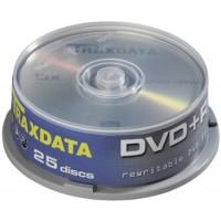 Traxdata (PLUS+RW - Re-Writable) 8x Speed RITEK 4.7GB DVD+RW (25 TUB)