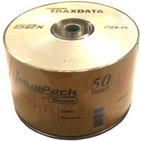 Traxdata ValuePack 52x CD-R in 50 Pack