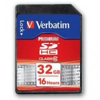 Verbatim 43963 32GB SD ULTRA HIGH SPEED Class 10 - Secure Digital SDHC Card