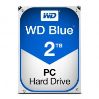 Western Digital WD Blue Hard Disk Drive - 2TB