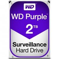 """WD Purple 2TB 3.5"""" Surveillance AV / CCTV - HDD / Hard Drive - WD20PURZ"""