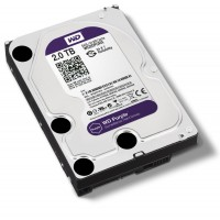 WD 2TB 3.5inch SATA3 PURPLE Surveillance Hard Drive, Intellipower, 64MB Cache - WD20PURX