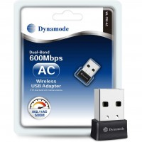 Dynamode WL-700-AC USB High-Gain 600Mbps Dual Band Wireless Adapter
