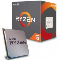 AMD Ryzen 5 2600 3.9 GHz Six Core AM4 Socket Overclockable Processor with Wraith Stealth Cooler