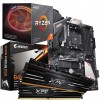 High Performance Bundle: Ryzen 3700X 8-Core CPU with RGB Wraith Cooler, Gigabyte B450 AORUS Pro ATX Motherboard & Adata Gammix D10 16GB 3200MHz DIMM Memory (2x8GB)
