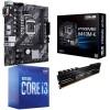 Intel 10th Gen Comet Lake Bundle: Intel Core i3 10100 Quad Core 10th Gen. CPU, ASUS Intel H410 PRIME mATX Motherboard & Adata Gammix D10 8GB DDR4 3000MHz Memory