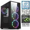 TechTribe Intel i5 9400F, 16GB DDR4, 1TB Hard Drive & 512GB M.2 SSD, Nvidia Geforce GTX 1650 Super Graphics, Gaming Desktop - Win 10
