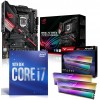 Intel 10th Gen Comet Lake Premium Bundle: Intel Core i7 10700 Eight Core 10th Gen. CPU, Asus Z490 ROG STRIX Z490-H GAMING Motherboard & Team T-Force Xtream ARGB 16GB DDR4 4000MHz Gaming Memory (2x8GB)