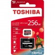 Toshiba Exceria 256GB M303 4K and Full HD 98MBPS Micro SD Class 10, UHS-I, U3, V30, A1 With Adapter