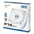 Arctic F14 Silent 140mm Fluid Dynamic Bearing 3-pin PC Case Cooling Fan