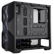 Cooler Master MasterBox TD500 Mesh Case, Crystalline Tempered Glass Side Window Panel, RGB Fans - Black