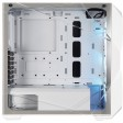 Cooler Master MasterBox TD500 Mesh Case, Crystalline Tempered Glass Side Window Panel, RGB Fans - White