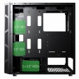 Game Max Kage Midi Tempered Glass inc Spectrum RGB Hub 3 Pin AURA - No Fans