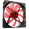 Game Max Sirocco 4 Red LED 12cm Cooling Fan