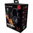 Sumvision SERAPH 7.1 Surround Sound Gaming Headset / Headphones for PC, Laptop, Xbox, X, One, PS4, PS5, Nintendo Switch