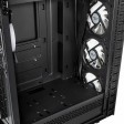 Kolink Observatory Lite Mid Tower PC Gaming Case with 4x aRGB Fans, Tempered Glass Side