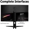 "MSI Optix 31.5"" 4K UHD 60Hz Premium Curved 1500R VA MAG321CURV Gaming Monitor"