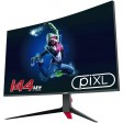 piXL 27'' 144Hz Curved HDR G-Sync Compatible 5ms Frameless Gaming Monitor with FreeSync, DisplayPort & HDMI