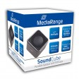 MediaRange MR731 Sound Cube Portable Speakers with FM Radio