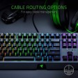 Razer Blackwidow Chroma USB RGB Mechanical Green Switch Gaming Keyboard - UK Layout