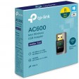 TP-Link Archer T2U AC600 Wireless Dual Band 2.4GHz and 5GHz USB Adapter for PC, Desktop, Laptop and Tablet