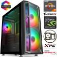 TechTribe F15 Ryzen 2700X Eight Core, 16GB RGB RAM, 2TB Hard Drive & 256GB M.2 SSD, 8GB Nvidia Geforce RTX 2070 SUPER Graphics, Gaming Desktop - Win 10