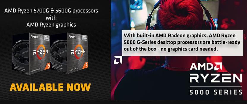 NEW AMD Ryzen CPU's