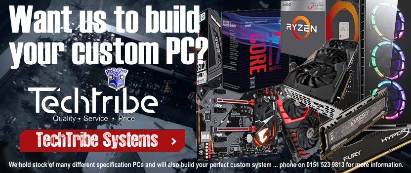 TechTribe Custom Build Gaming PCs