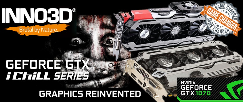 Inno3D GTX 1070 Graphics Card