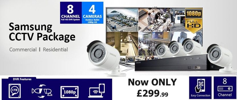 Samsung CCTV Packages