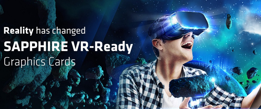 Sapphire Radeon VR Graphics Card