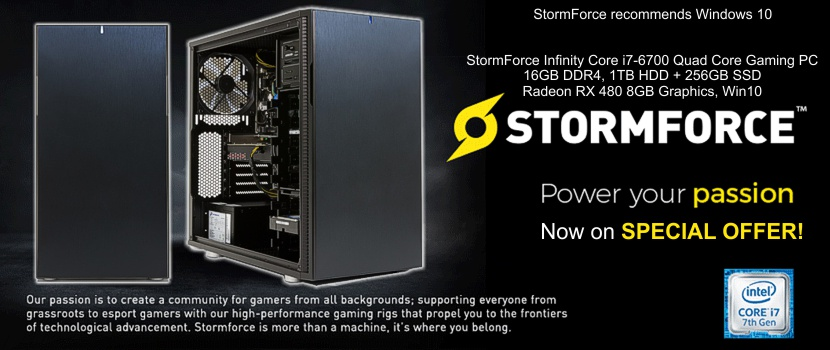 Stormforce Gaming PC's at LOW Prices!
