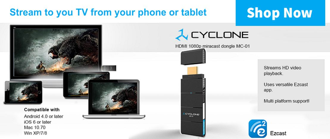 Sumvision Cyclone Miracast