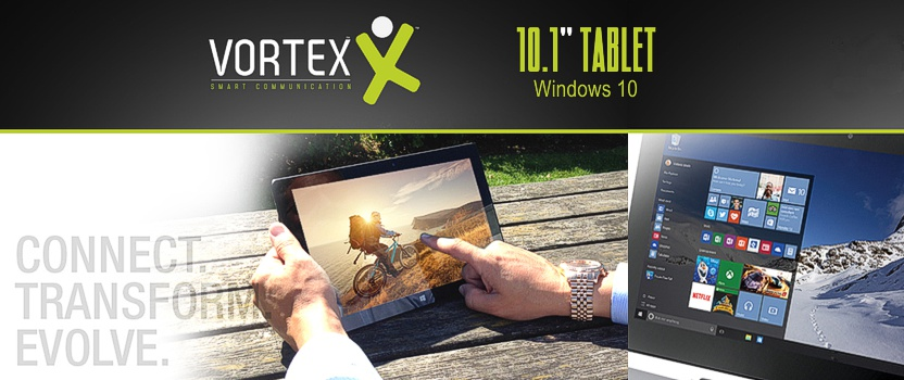 Vortex 10.1 Tablet with Detachable Keyboard
