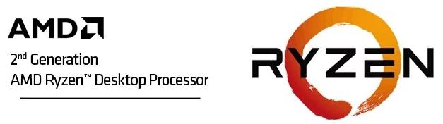 AMD Ryzen 5 2600X Gen2 6 Core AM4 CPU/Processor with Wraith Spire Cooler
