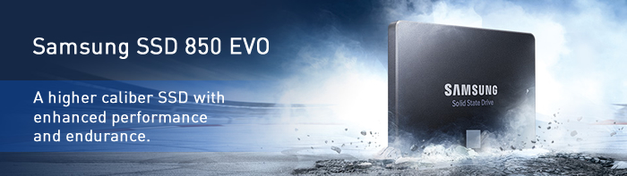 The Samsung SSD 850 EVO elevates the everyday computing experience to a  higher level of performance and endurance than was ever imagined.